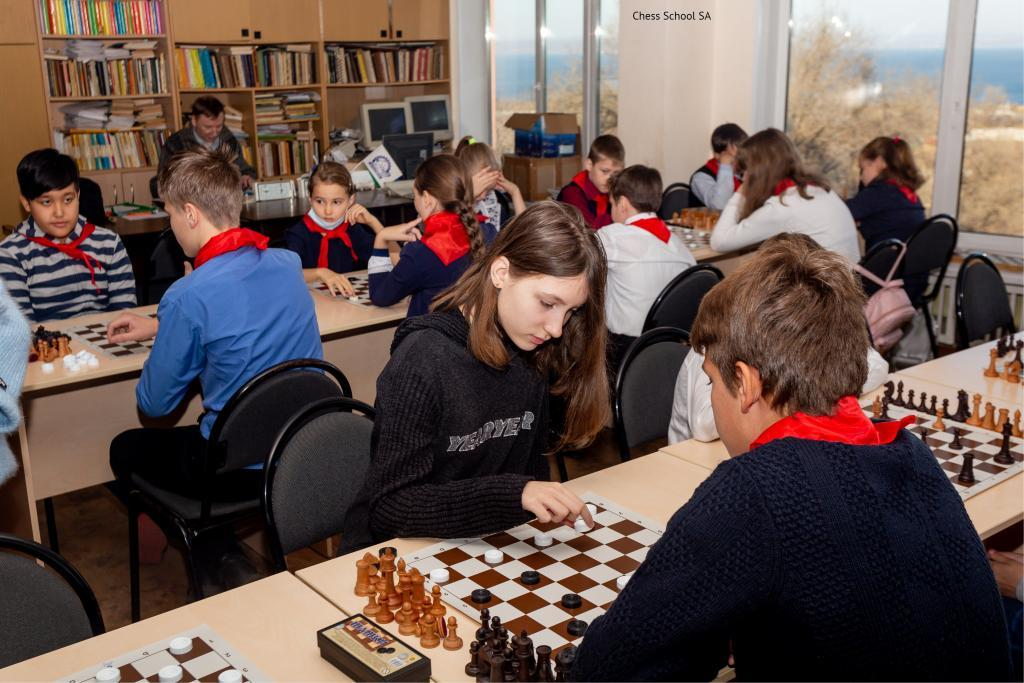 Junior chess competitions in South Australia
