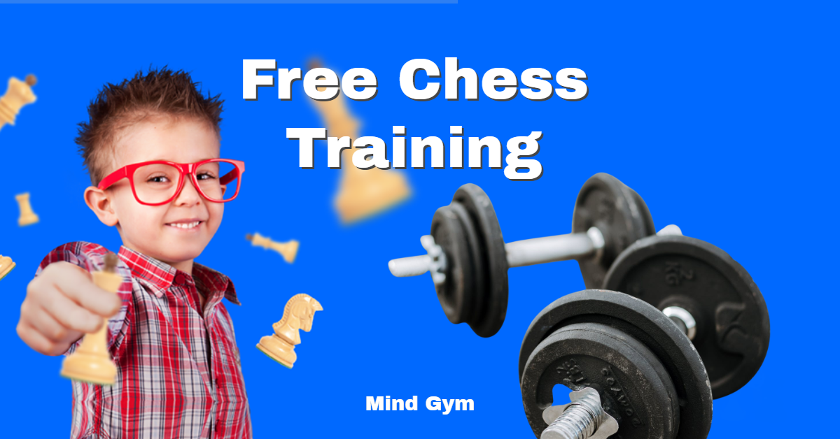Free Chess Training Menu